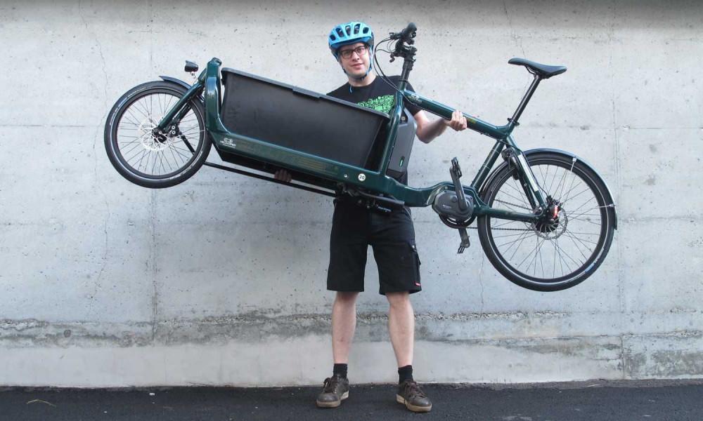 Velociped als Partner im Bereich E-Cargobike